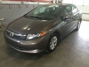 2012 Honda Civic LX Auto, Air, Gr. électrique