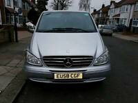QUICK SALE 2008 Mercedes Vito 111 CDI XLONG 8 Seater PCO FULLY LOADED