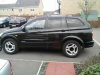 2006 Ssangyong Kyron Diesel Estate 2.0 Sx 5Dr Tip Auto (MERCEDES ENGINE AND RUNNING GEAR)