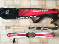 Composite Fibre Hockey Stick + Bag + Shinguards