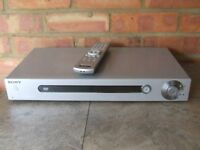 Sony-CD-DVD-DVP-LS500-Player- With-Remote- Silver