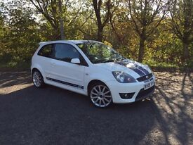 FORD FIESTA ST 2006 WHITE 12 MONTH MOT EXCELLENT CONDITION