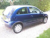VAUXHALL CORSA 1.2 Great little car 2004 new MOT Bargain !!