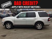 2009 Ford Explorer XLT  $63.11 A WEEK + TAX OAC - BAD CREDIT APP