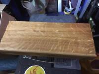 100% bespoke oak chopping boards and shelves