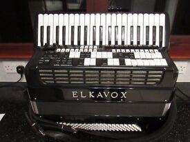 ELKA 83 ELECTRONIC ACCORDION