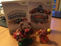 Wii : Skylanders Games, 5 Characters & Platform