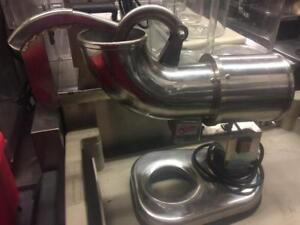 Used All Stainless Steel Ice Shaver Maker Snow Cone Machine