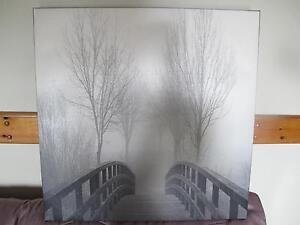 Cadre en noir et blanc, paysage West Island Greater Montréal image 2