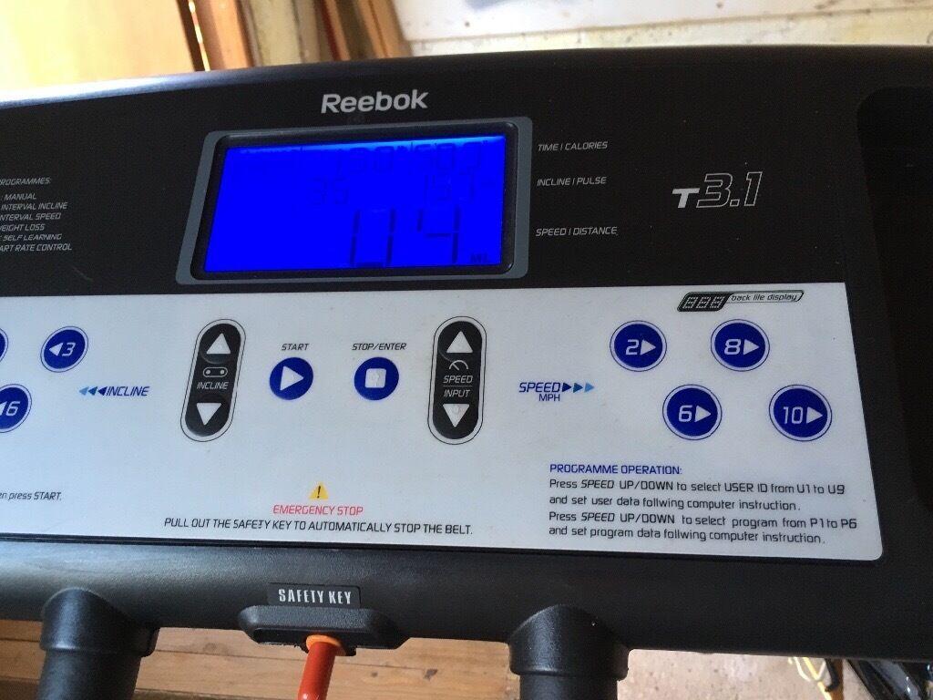 Reebok Treadmill 31 In Dundee Gumtree