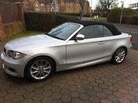 BMW 1 Series Convertible 2010 M Sport 2.0 FSH 59k Immaculate Condition