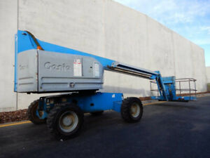 2006 Genie S45 Boom Lift Bell Park Geelong City Preview