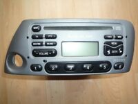 FORD KA 6000 CD Radio Stereo Player with CODE