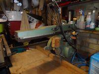 Dewalt 1.25 single phase cross cut radial arm saw