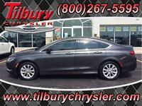 2015 Chrysler 200 C, Leather, uconnect, Sunroof, Nav, Rev Cam