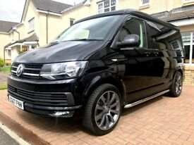 BRAND NEW CAMPER KING ADVENTURE TREK - T6 HIGHLINE CAMPER VAN - METALLIC BLACK - Solar panels