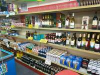 Shelfs, fridges and other off licence stuff