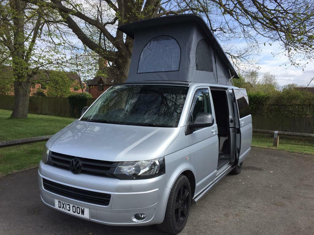 vw transporter t5 camper in evesham worcestershire gumtree. Black Bedroom Furniture Sets. Home Design Ideas