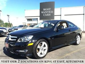 2012 Mercedes-Benz C-Class C250 | 1.8L COUPE | BEIGE LEATHER | N Kitchener / Waterloo Kitchener Area image 2
