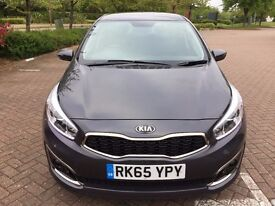 Kia Cee'd 1.6 GDi2 Hatchback 5dr (ISG), Petrol, Manual, Low Mileage, Full Service History, HPI Clear