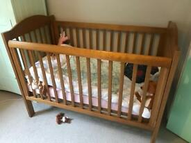 King parrot Boori cot bed
