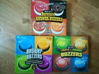 Buzzers for games school teacher or clubs