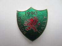 dragon rally badge 1990 , new