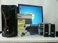 Home Office PC Computer Bundle Intel Core 2 Duo 4Ghz 4GB RAM 250HD Win 7 from £75 (49A)