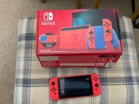 Nintendo Switch Red Mario Edition