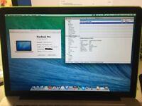 "Macbook Pro 15.4"" 2012 2.3GHz i7 4GB RAM GT650M Model A1286"