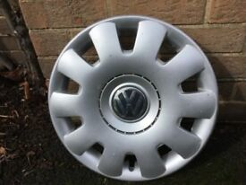 VW wheels and trims x 4