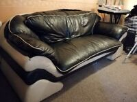Leather sofa and dinning set