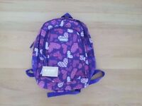 Hi-TEC Girls Heart Backpack Bag