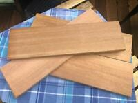 New Wooden Solid Hard Wood Boards suitable for shelving, Balau Wood