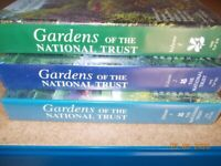 Gardens of the National Trust VHS videos - set of 3