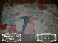 Girls 0 to 3 clothes bundles