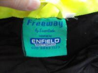 Enfield Hi Viz Jacket padded with hood good condition