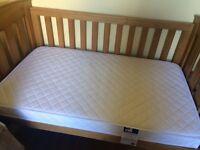 Boori cot mattress 131 cm x 75 cm