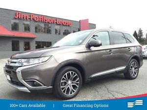 2016 Mitsubishi Outlander GT AWD w/leather, nav, roof