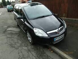 2009 Vauxhall Zafira 7 seater,1 owner