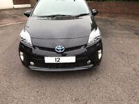Toyota Prius 2012 T Spirit top of the range UK model Damaged unrecorded Uber Pco