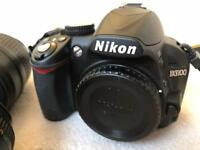 Nikon D3100 with 3 lenses