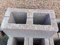Concrete hollow dense blocks 215mmx215mmx440mm