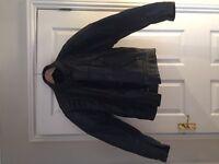 Mens Buffalo Leather Jacket size 42