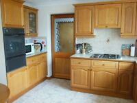 Kitchen Cabinets good quality oak doors