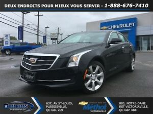 2016 Cadillac ATS 2.0L Turbo LUXURY + AWD + CUIR + TOIT
