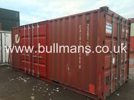 20ft - Shipping container with side access doors, steel container, storage container for sale