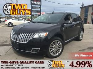 2013 Lincoln MKX AWD ELITE TRIM NAV-LEATHER-PANOROOF-LOADED!!!
