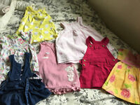 Big bundle of Baby girl clothes 0-6months-25£