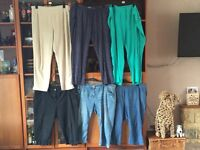 Ladies 20/22 trousers x 6 M&S George C&A